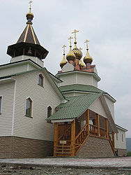 Russian Orthodox Church, Bilibino, Russia