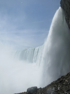 Canadian falls at Niagara